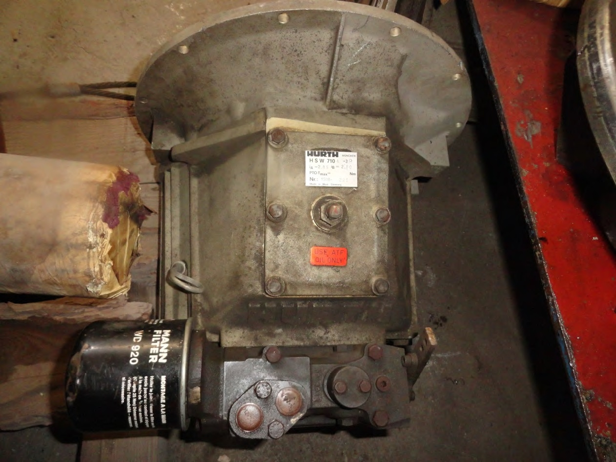 Gearbox HURTH HSW 710 A